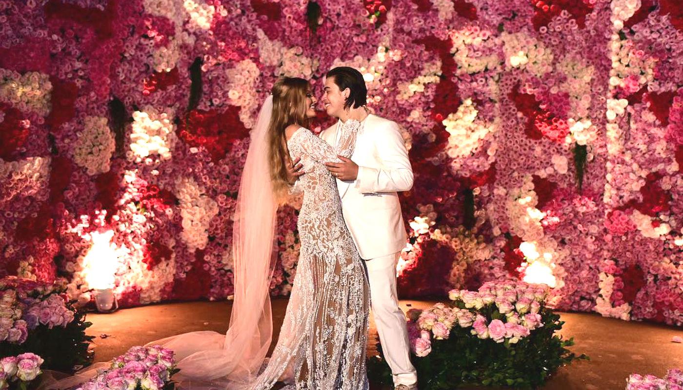Painel Floral Casamento