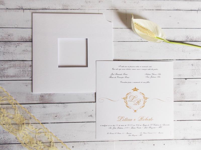Convite Simples e Elegante