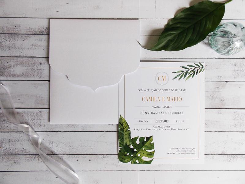 Convite Tropical