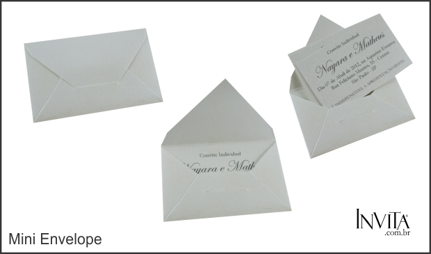 Mini Envelope para Individuais