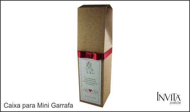 Caixa para Mini Vinho